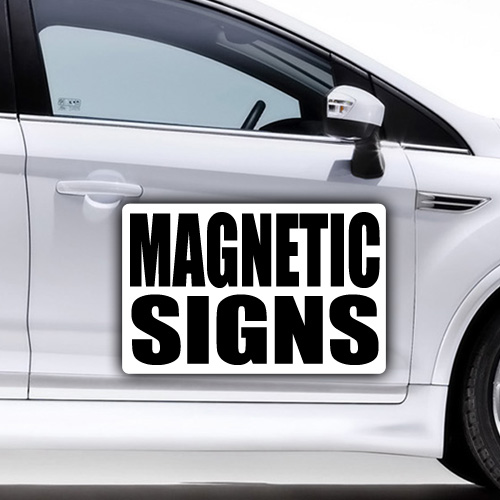 Magnetic Signs  Garcia Signs Miami - Car signs